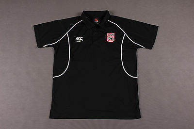Canterbury Northern Ireland Dergview Fc Mens Football Polo Shirt Size L