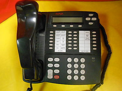 Avaya 4424D+ Business Phone, 108199084, Office, Digital Display,conf. Black,