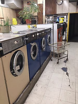 Laundromat For Sale Wascomat Washers, Dryer, Soda and Soap Machine
