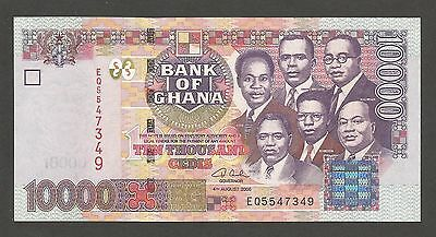 Ghana 10000 Cedis 2006; UNC; P-35; L-B143c; Freedom and Justice Arch
