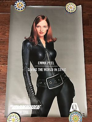 The Avengers Peel 27X40 Ds Movie Poster One Sheet New Authentic