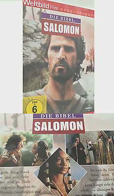 DVD Die Bibel SALOMON Das Alte Testament Film Bibelfilm Bibelgeschichte Deutsch