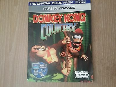 NICE** Donkey Kong Country Game boy Advance Nintendo Power Strategy Player Guide
