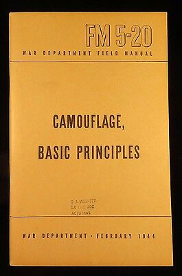 WWII US Army -  Field Guides -  FM 5-20 Camoflage Principles - Feb 1944  (847)