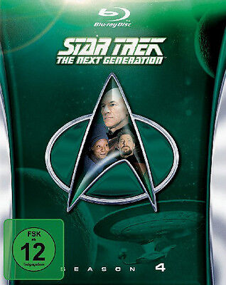 STAR TREK The Next Generation Season 4 Bluray 26 Episoden DEUTSCHE Version NEU O