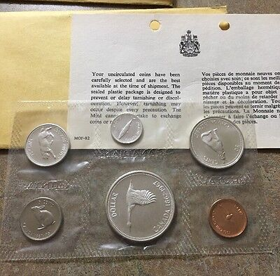 1967 Canada Silver Mint Set ~ Uncirculated