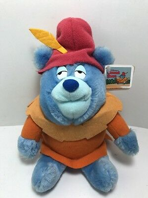 "1985 WALT DISNEY GUMMI BEARS 18"" TUMMI BEAR Fisher Price Plush Stuffed Vintage"