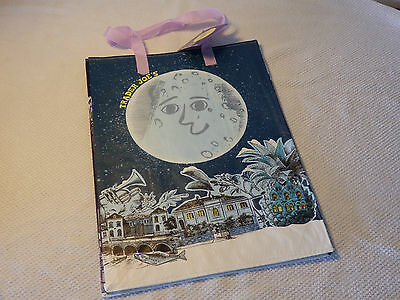 1 Trader Joes Joe's New Year Moon Eco Reusable Bag Grocery Shopping Beach