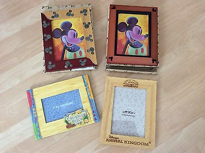 Lot Of 4 Disney Picture Frames New 5X7 4X6