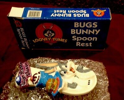 Looney Tunes Bugs Bunny Diner Collectible Spoon Rest
