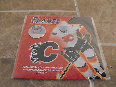 Canada 2009-10 Calgary Flames Colourized 50 Cent - Royal Canadian Mint