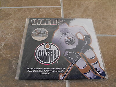 Canada 2009-10 Edmonton Oilers Colourized 50 Cent - Royal Canadian Mint