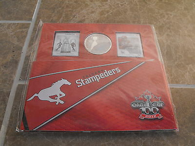 Canada 2012 Football Set - NEW - Calgary Stampeders