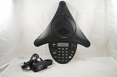 Polycom SoundStation 2W Wireless Conference Phone 2201-67880-160 w/ Battery