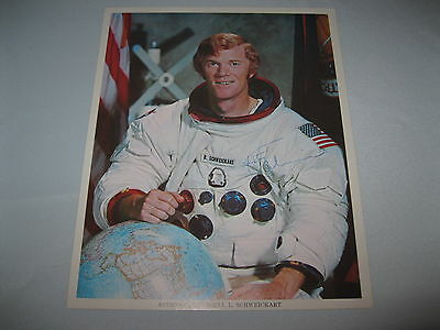 Russell Schweickart signed autographed 8x10 Photo Nasa Apollo 9 Astronaut Rare!
