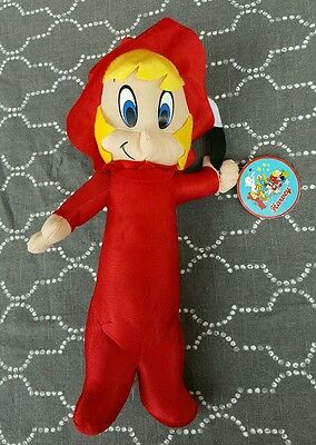 """Casper The Friendly Ghost's Wendy Witch 14""""Plush NWT KellyToy Licensed By Harvey"""