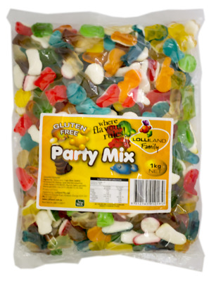 Gummi Party Mix Lolliland 1kg