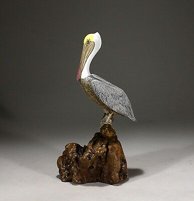 PELICAN Sculpture New direct from JOHN PERRY Figurine 11ins tall Decor Art