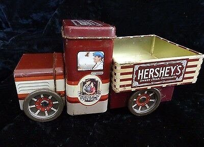 Hershey's Chocolate Collectible TIN Truck FREE SHIPPING