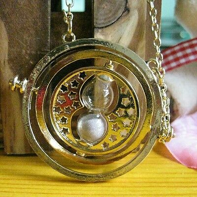 NEW Harry Potter Time Turner Hermione Granger Rotating Necklace US seller