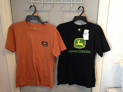 John Deere T-Shirt Lot Of 2 * Both Size Mens M Medium * J. America, Inc. * New