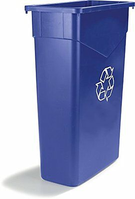 Carlisle 342015REC14 TrimLine LLDPE Waste Container, 15 Gallon Capacity,...