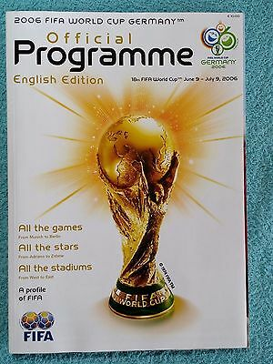 2006 - Official World Cup Tournament Programme - English Language Edition