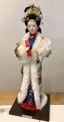 Traditional Chinese Art Silk Figurine Doll Statue-Wang Xifeng