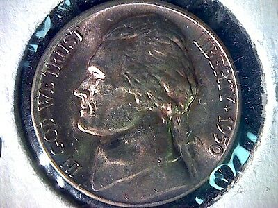1950-D 5C Jefferson Nickel