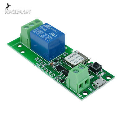 Sonoff WiFi Wireless Smart Switch Relay Module 5V for Home Apple Android APP