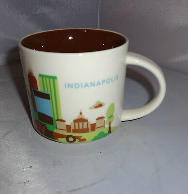 Starbucks Indianapolis City Mug You Are Here Collection 2013