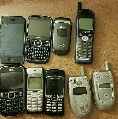 Cell Phone Lot For Parts or Repair (9)