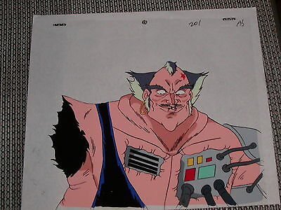Unknown Production Anime Animation Cel - Evil-looking Guy