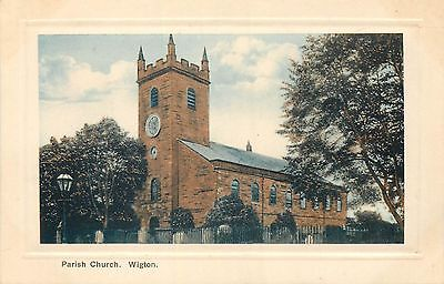 angleterre parish church wigton