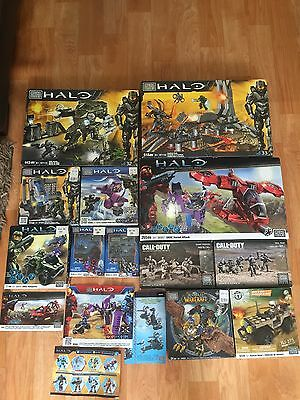 RARE MEGA BLOKS HAUL!! HALO, Call of Duty, World of Warcraft & More