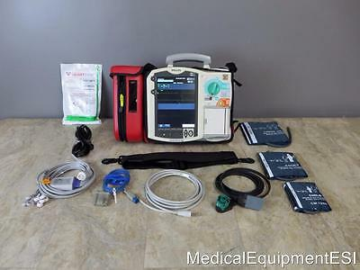 Philips MRx Biphasic 12 Lead ECG SpO2 NIBP  Pacing AED M3536A