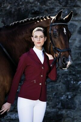 Horseware Ladies COMPETITION SHOW JACKET Light Stretch Black Navy Berry Green