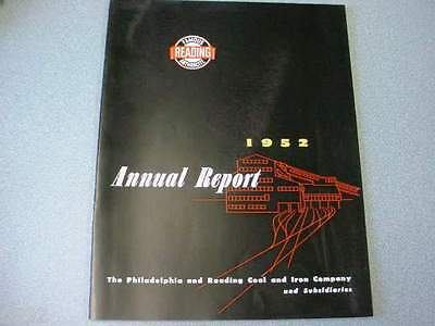 1952 Philadelphia & Reading Coal Corp. Annual Report (Nice Old Anthracite Item)