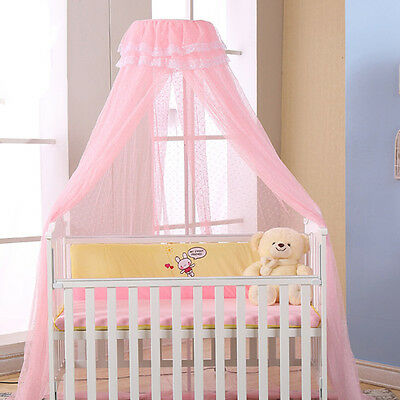 Newest Baby Crib Mosquito Net Princess Dome Bed Netting Newborn Bedding Canopy
