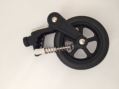 """NEW swivel wheel 6"""" small parts Bugaboo Cameleon Frog Gecko Baby Stroller front"""