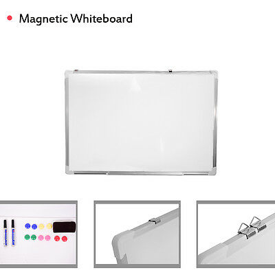 Panana Magnetic Whiteboard Dry Wipe Drawing & Eraser Memo Notice Office School
