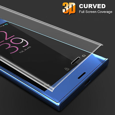 FULL CURVED EDGE 3D TEMPERED GLASS SCREEN PROTECTOR for Sony Xperia X XZ XA XP