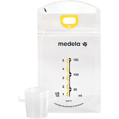 Medela PUMP & and SAVE Breastmilk Freezer Storage Bags NEW Authentic