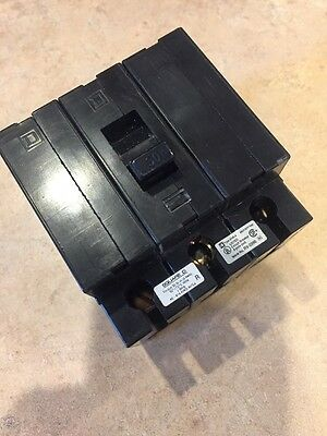 Square D EHB34030 Circuit Breaker 30amp,480v, 3 phase, Used, Great Condition