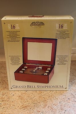 Mr. Christmas Grand Bell Symphonium 16 Songs NIB Unopened Package