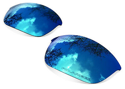 Fit&See Polarized Ice Blue Replacement Lenses for Oakley Flak Jacket XLJ