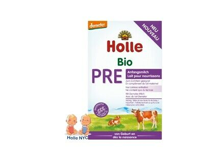 Holle Stage Pre Organic Baby Formula, 0-6 months, 400g 11/2019 FREE SHIPPING NEW