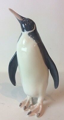 "Royal Copenhagen Figurine - PENGUIN  9 1/4"" Tall -  #417 Immaculate"