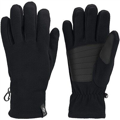 NEW Columbia Thermarator  Gloves with Touch Screen Compatible, Black, Large