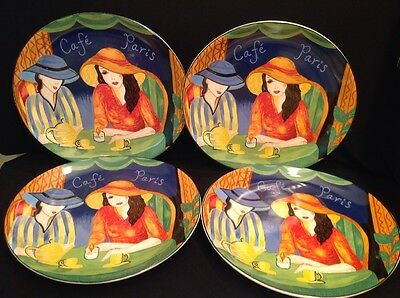 SET OF 4 SANGO CAFE PARIS Pattern 4914 1 OVAL DINNER PLATES 11 1 4 & Exciting Sango Cafe Paris Pictures - Best Image Engine - tagranks.com